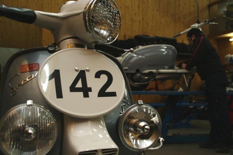 Innocenti Lambretta LiS 225